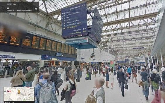 visite virtuelle des aéroport avec Google  map