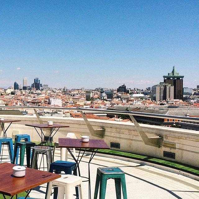 Vue sur Madrid