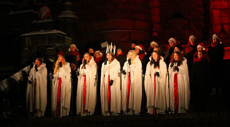 santa lucia en Suède