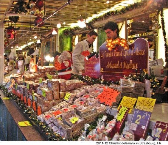 marché Noël strasbourg pain d'épice producteur local