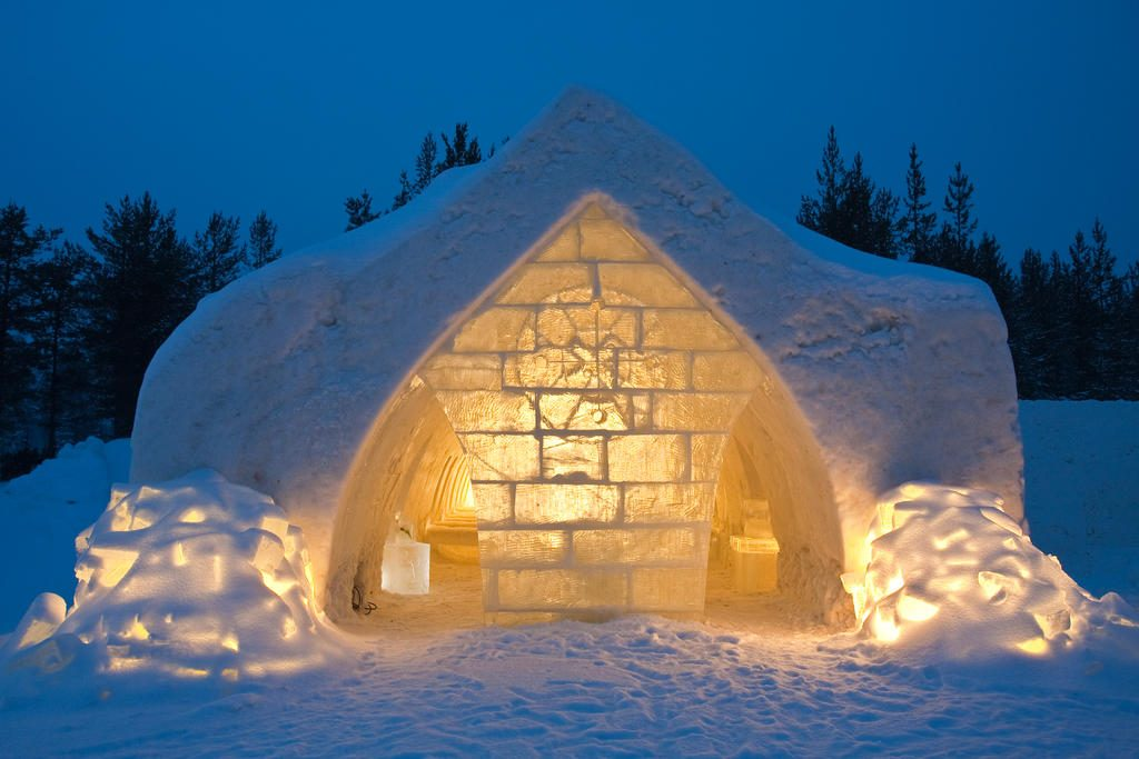 arctic snow hotel - blog eDreams