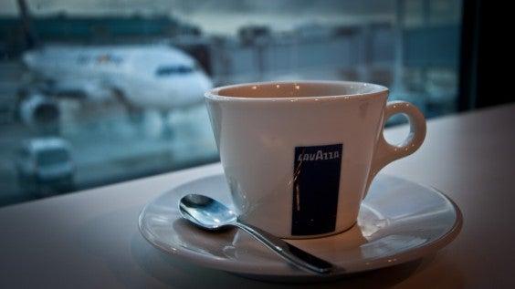 café aéroport
