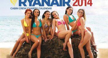 Liste au père Noël : le calendrier osé des hôtesses Ryanair