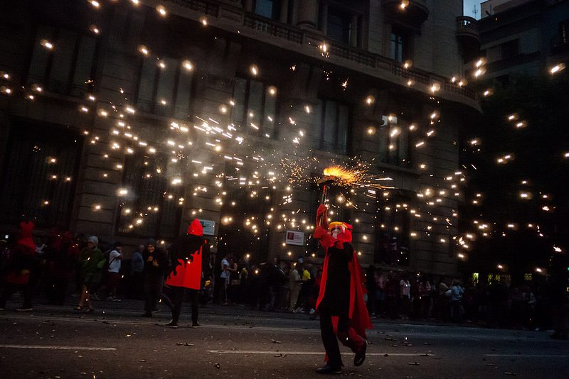 correfocs à Barcelone - blog eDreams
