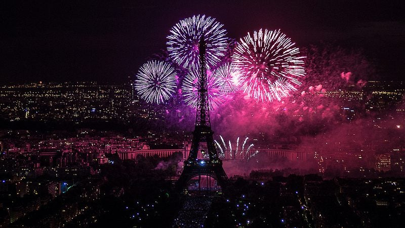 paris feu d'artifice