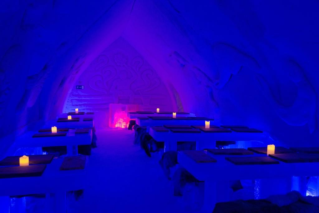 restaurant de glace - blog eDreams