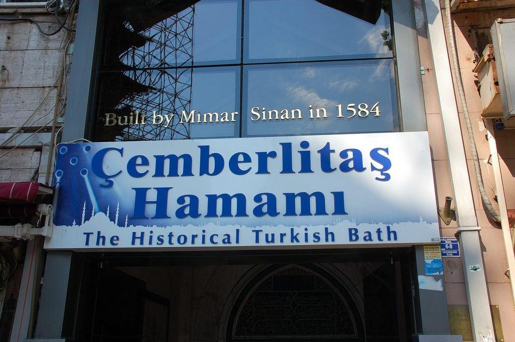 Cemberlitas bain turc Istanbul