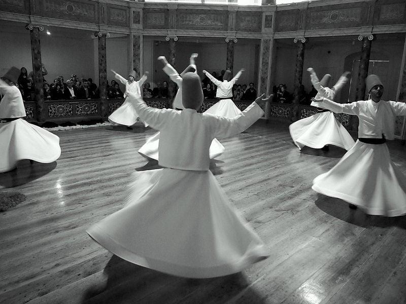 derviches tourneurs Istanbul
