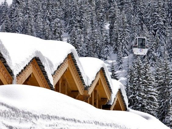 férias ecolóficas na neve
