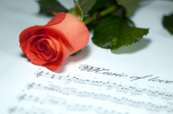 playlist saint valentin
