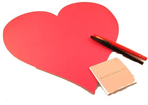 post it saint valentin