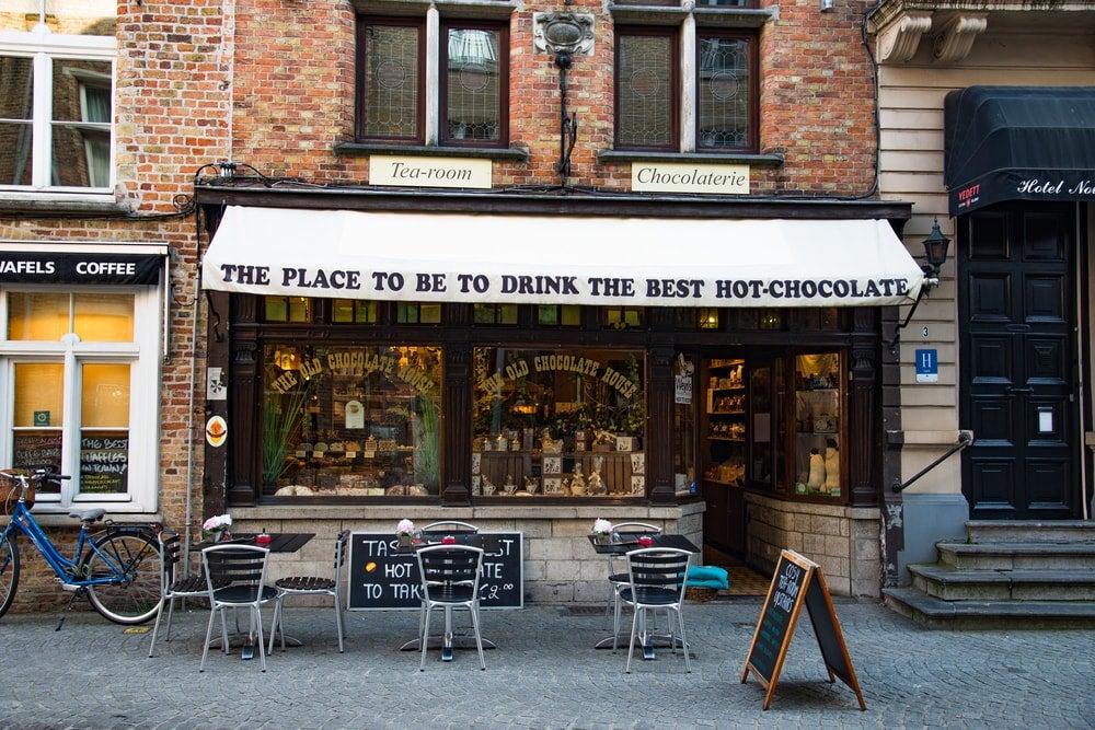 bruges meilleur chocolat chaud - blog eDreams