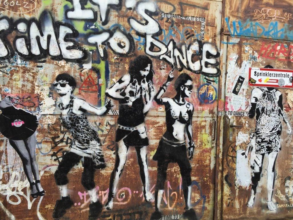 grafiti à Berlin