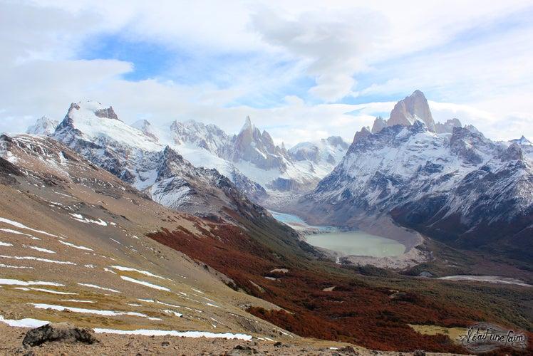 Face au Fitz Roy sur le Mirador Loma del Pliegue Tumbado - Argentine