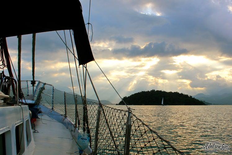 Expérience couchsurfing sur un voilier au Brésil