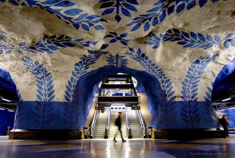métro de stockholm T-Centralen - blog eDreams