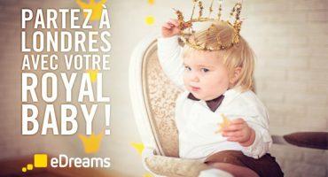 Jeu-concours : un A/R pour Londres à gagner pour l'anniversaire du Royal Baby !