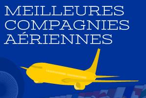 Meilleures compagnies aériennes pour voyager en 2015!