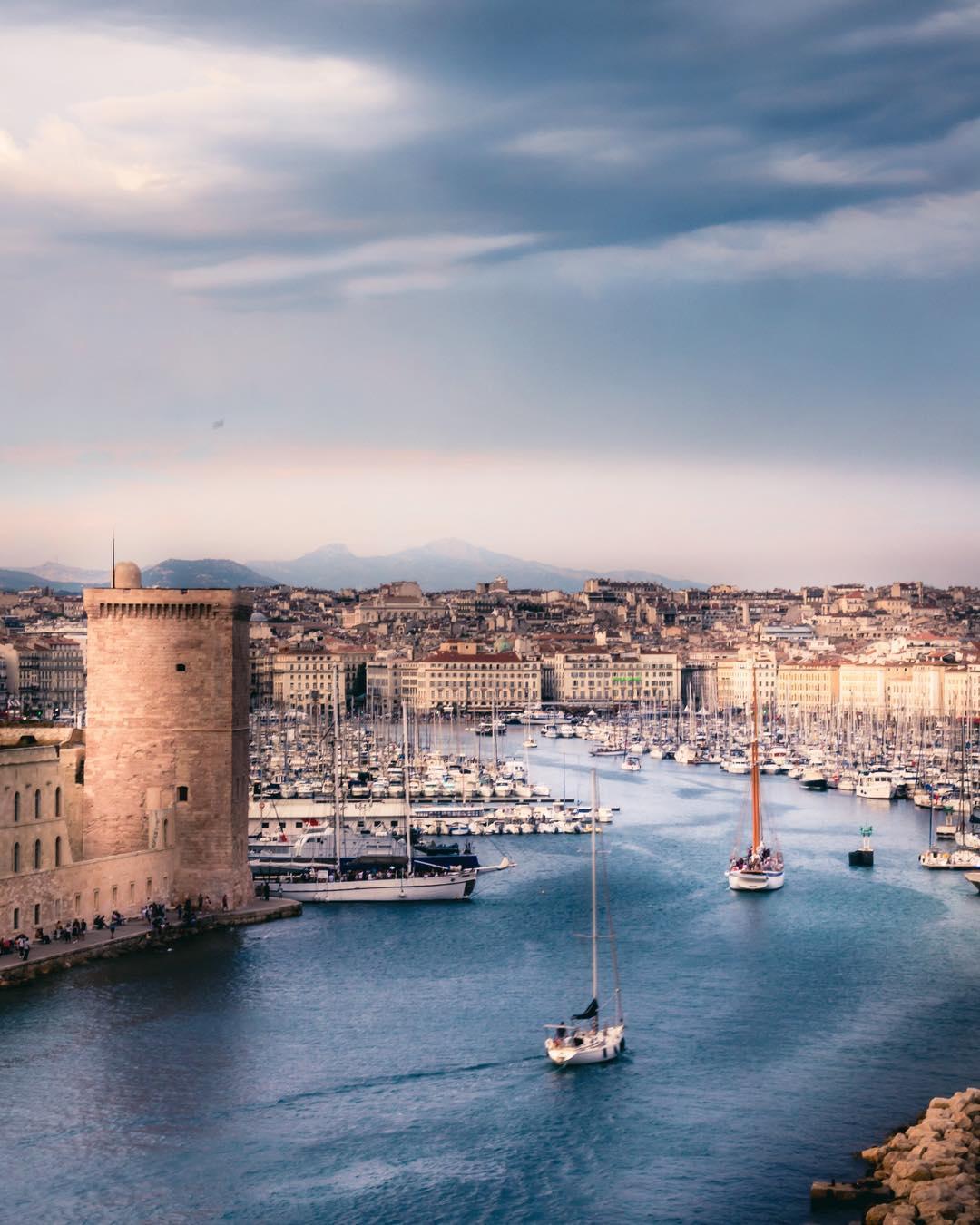 vieux port marseille - blog edreams
