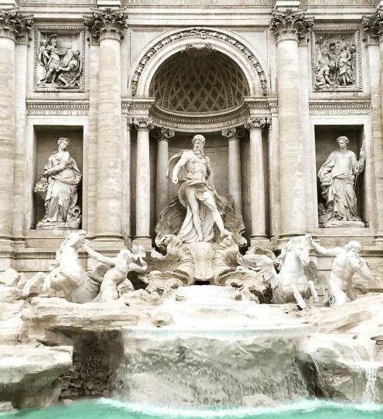 fontaine de trevi rome - blog edreams