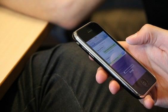 envi sms d'un iphone