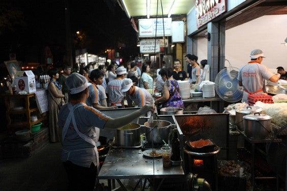Pad Thai en Thip Samai Bangkok