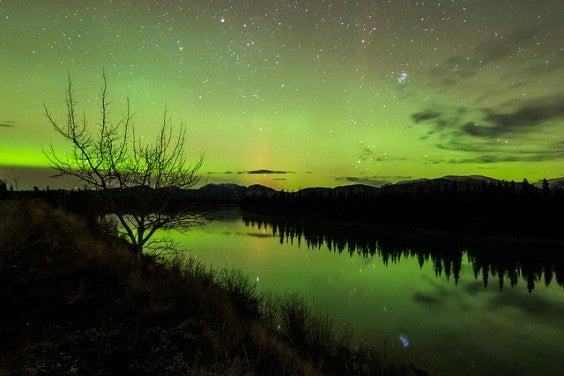 aurores boreales canada