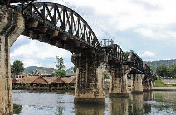Kwai river bridge
