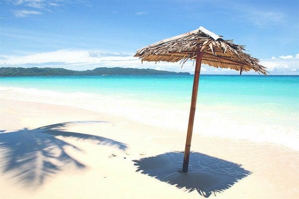 Plage paradisiaque aux Philippines