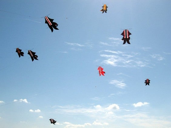 Festival des cerfs volants de Sanur