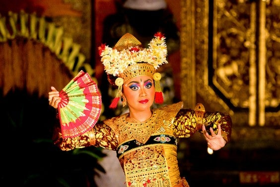 Legong, danza balinesa