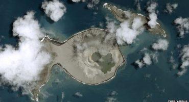 Nouvelle île découverte dans le Pacifique