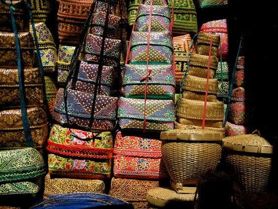 Mercado de Ubud en bali