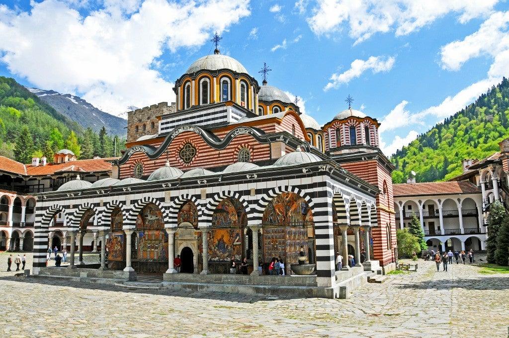 Monastero Rila Bulgaria