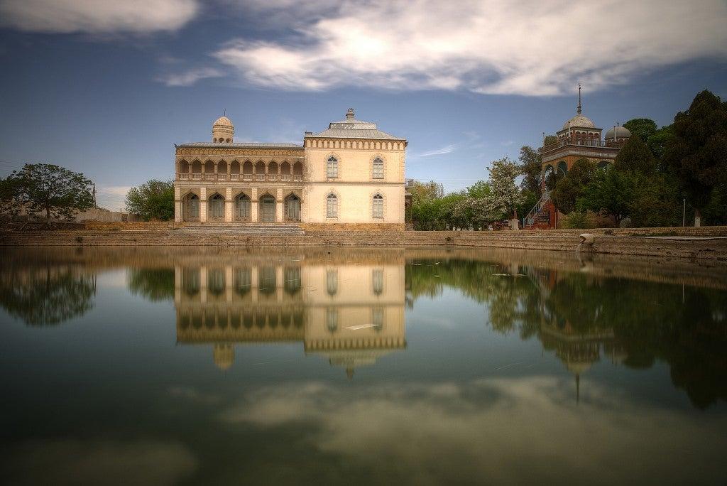 ciudad de bujara en uzbequistan