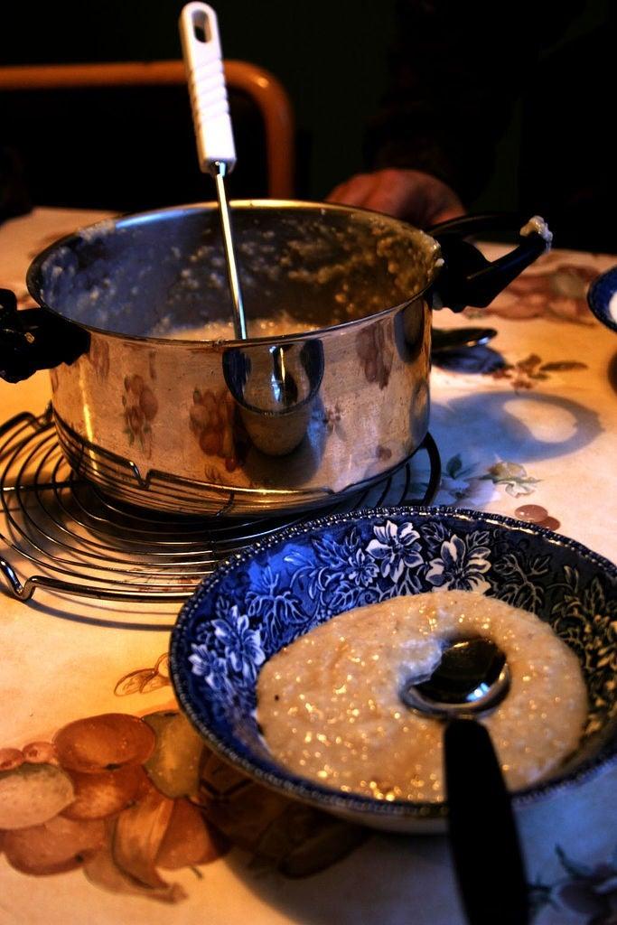 hafragrautur porridge Islande