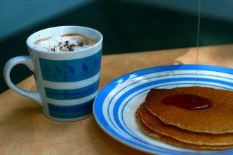 Pancakes au sirop d'érable
