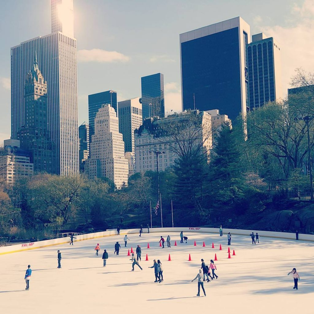 patinoire central park new york - blog eDreams