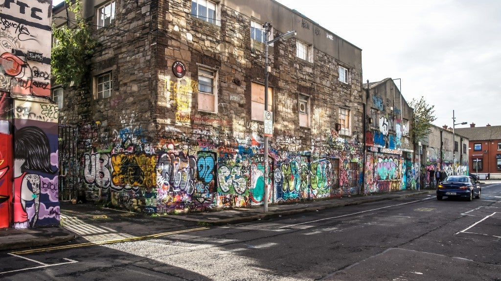 street art en dublin