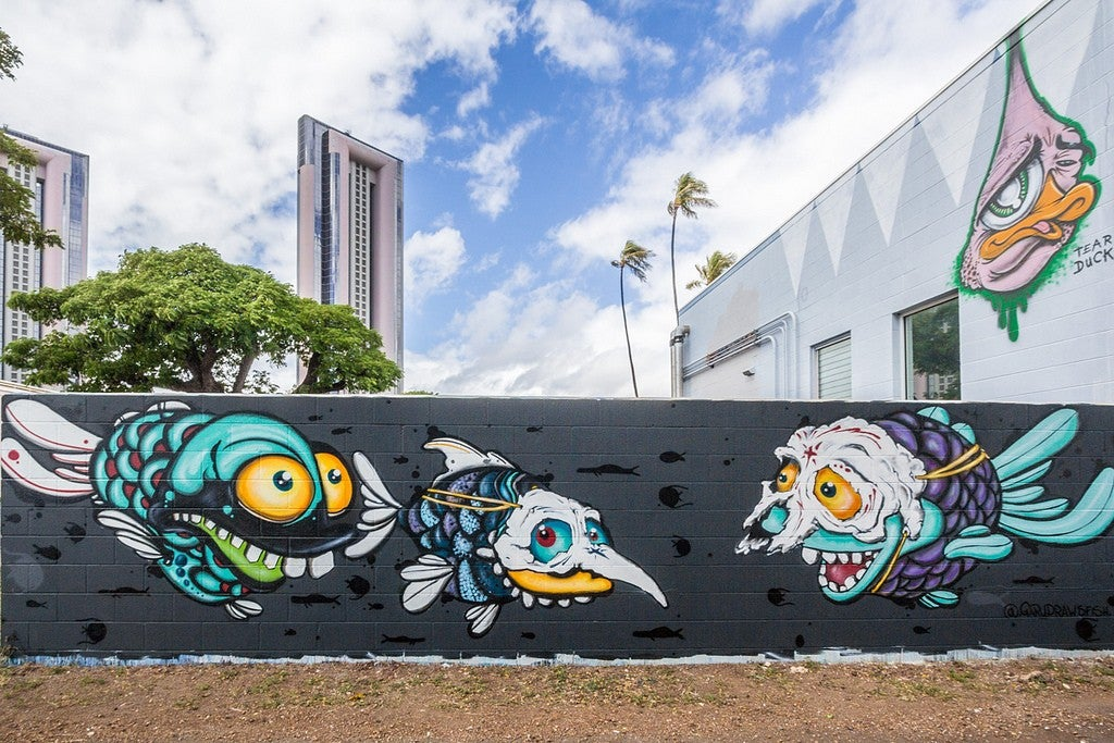 Honolulu street art