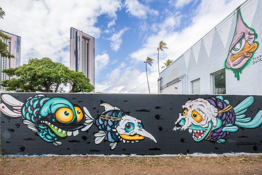Honolulu street art