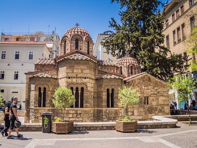 Eglise de kapnikarea Athènes