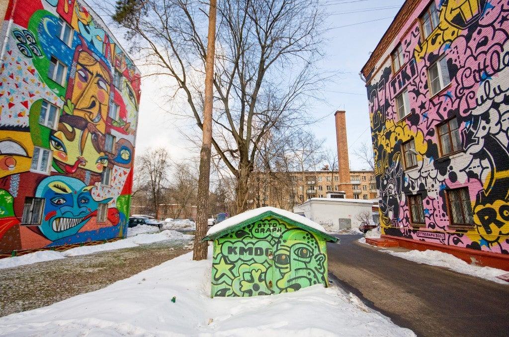 Mosca Street Art