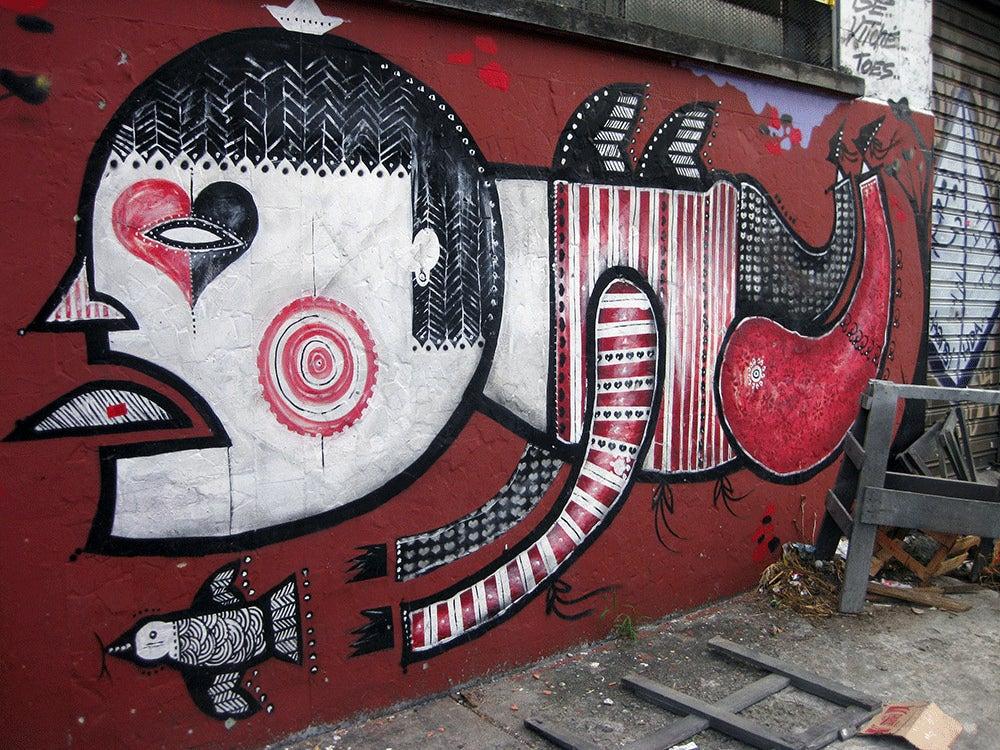 Street Art brasile