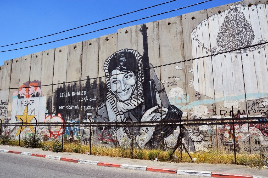street art en betlemme