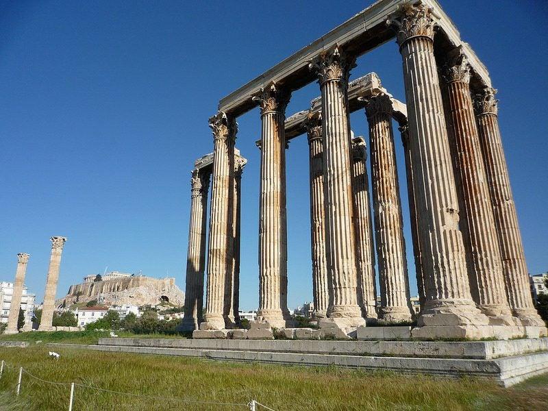 temple zeus Athènes