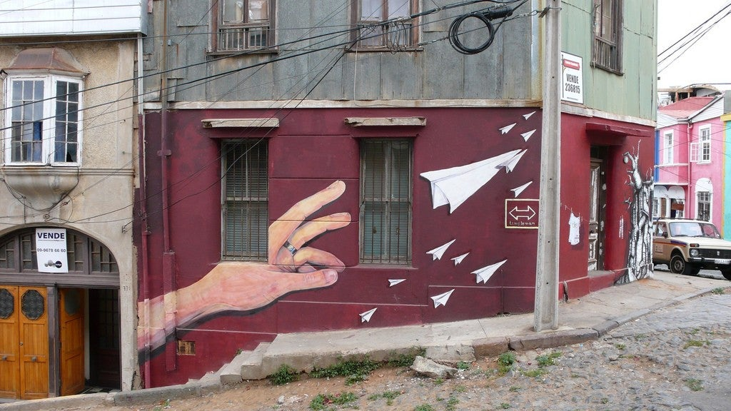 street art en valparaíso, chile