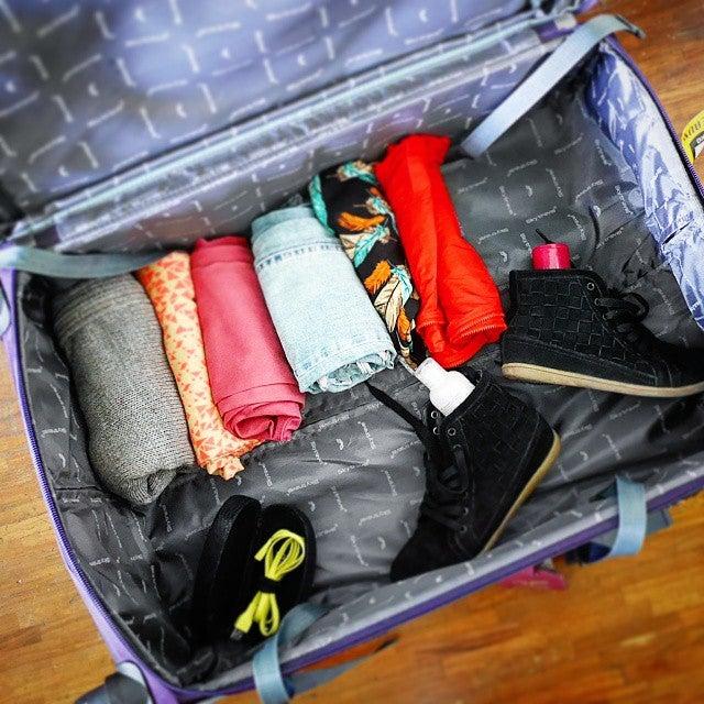 trucchi per fare la valigia