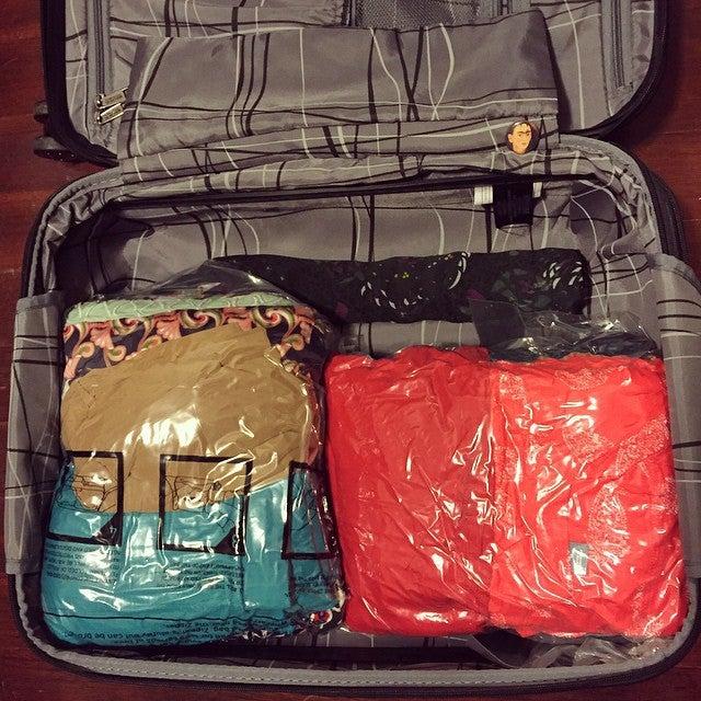 Sac sous vide valise - blog eDreams