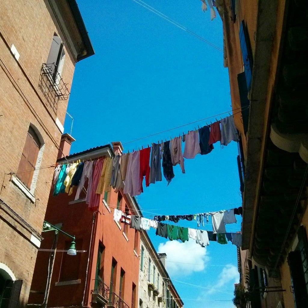 Linge qui sèche à Venise - blog eDreams